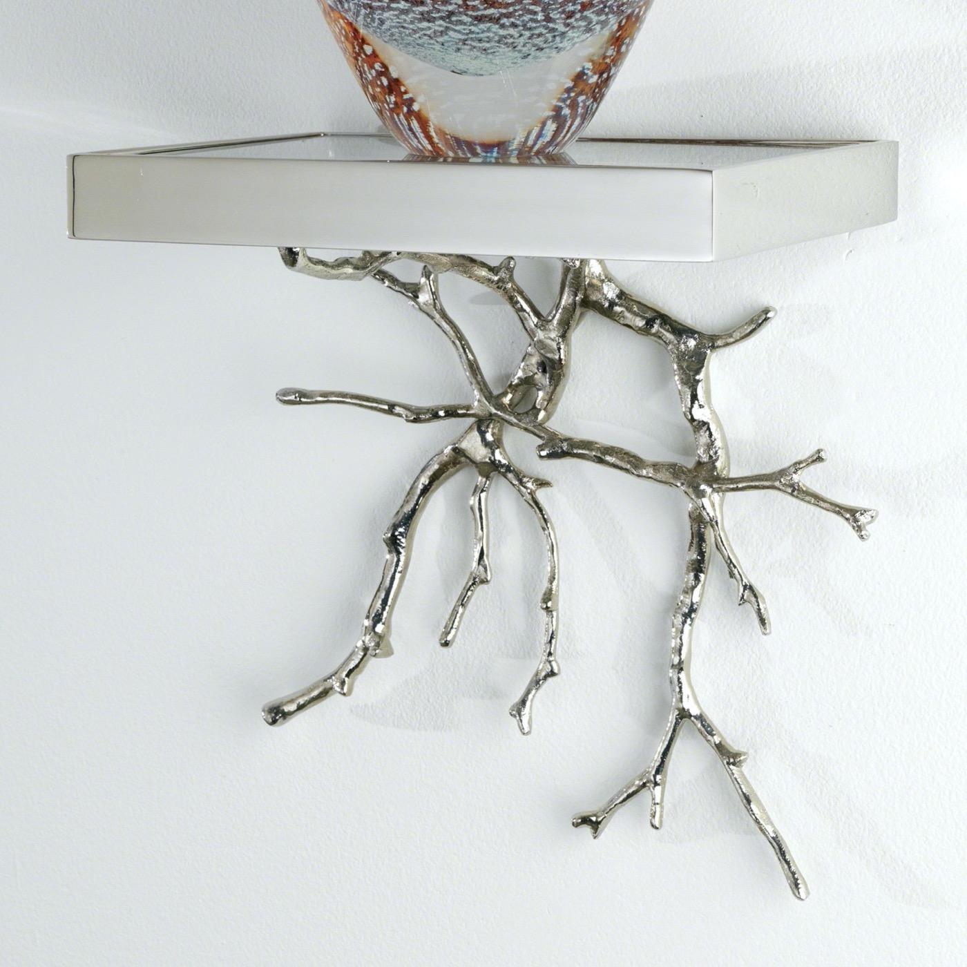 Branches Display Shelf  | Nickel