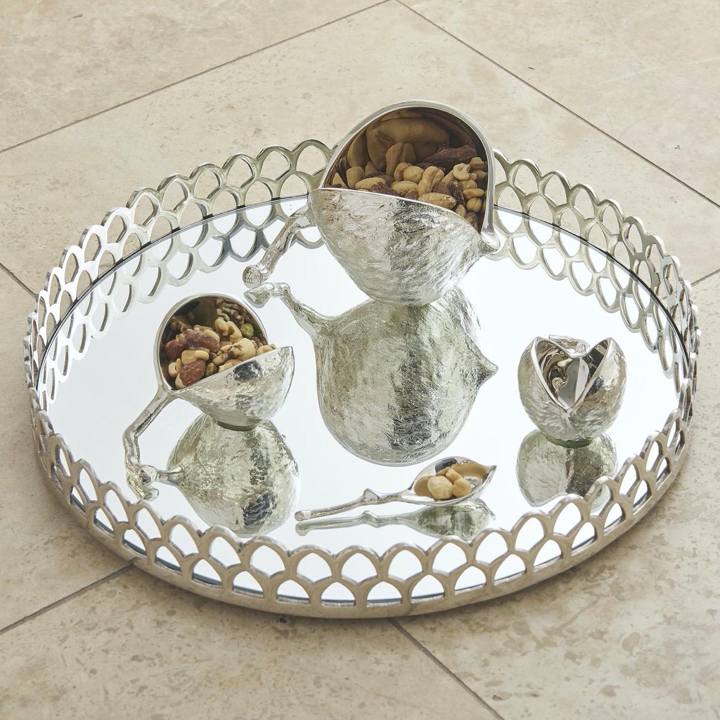 Chastain Nut Bowls | Nickel