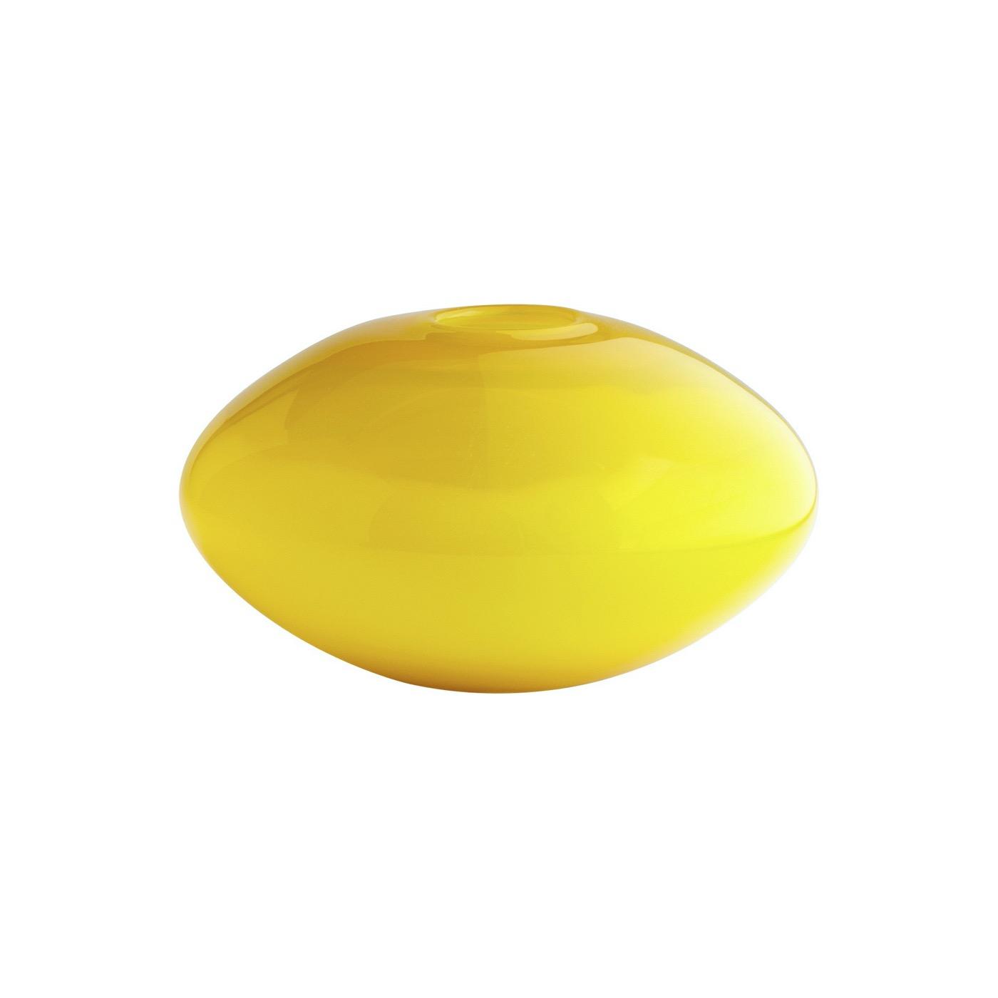 Genie Yellow Glass Vases