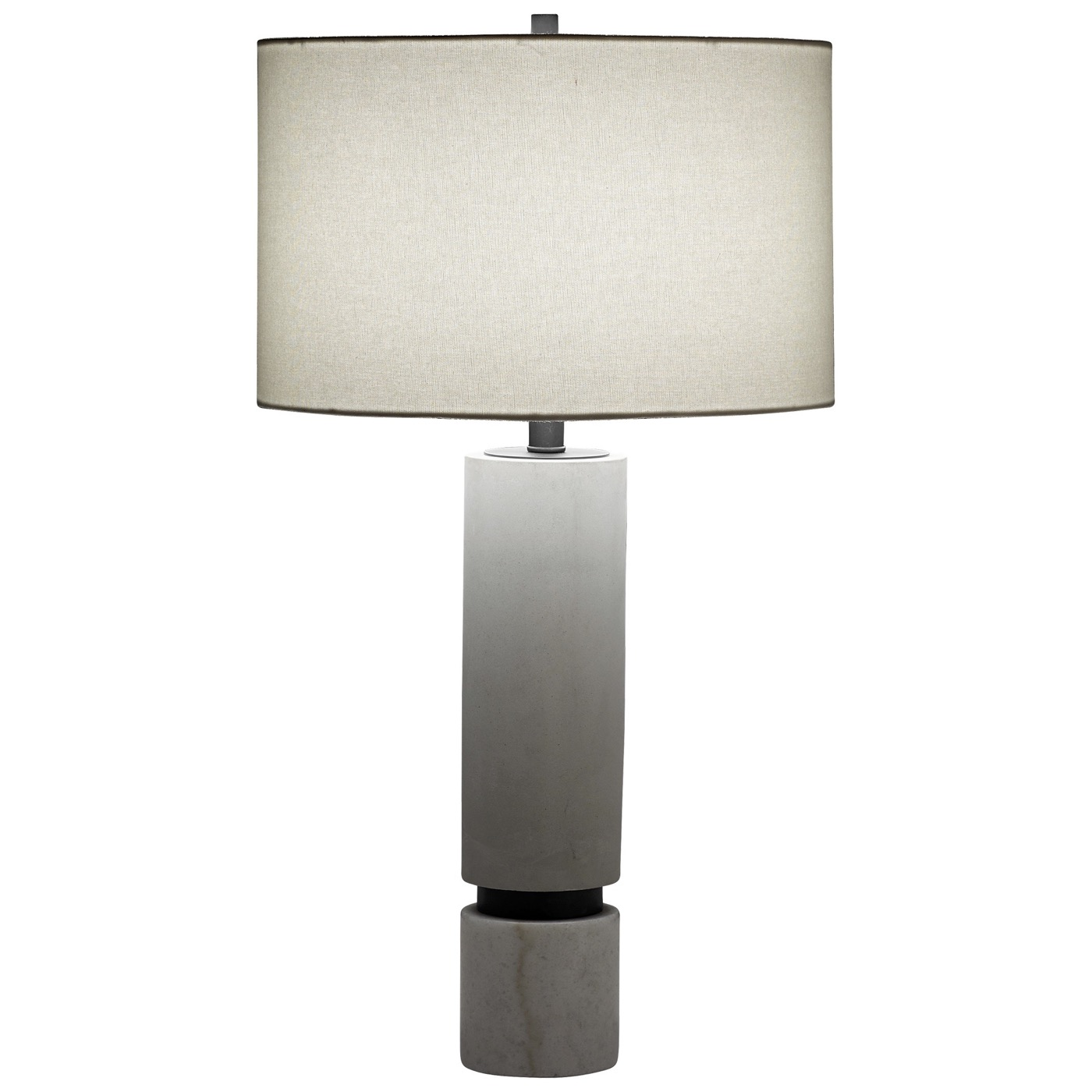 Zoran Concrete Table Lamp | Gunmetal