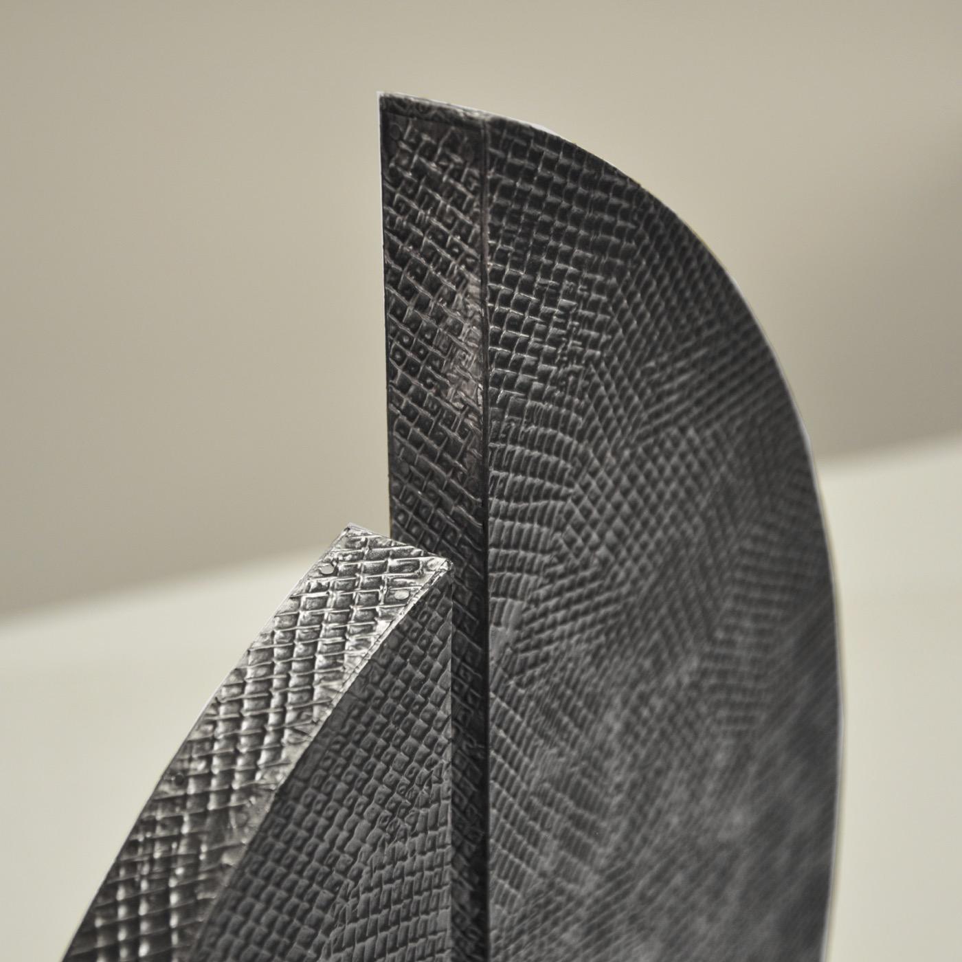Fronda Sculpture | Antique Nickel