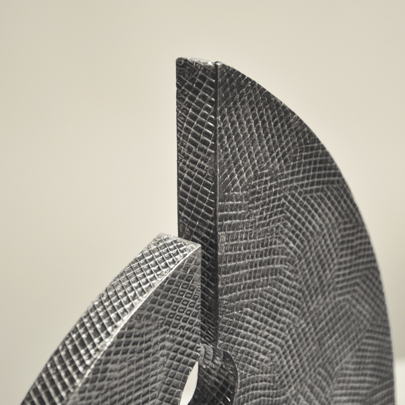 Frondu Sculpture   Antique Nickel
