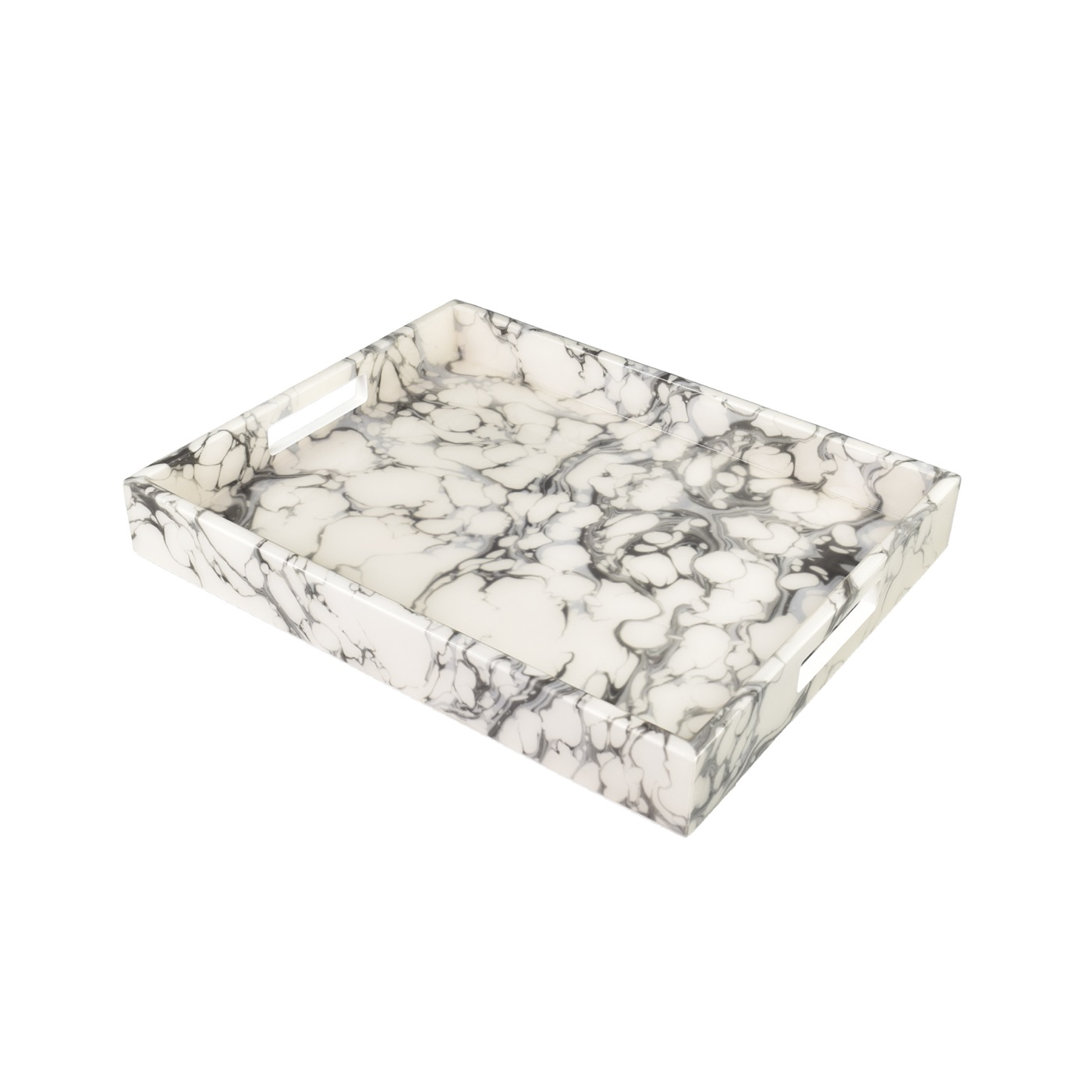 """Ellie Rectangular Lacquered Trays 