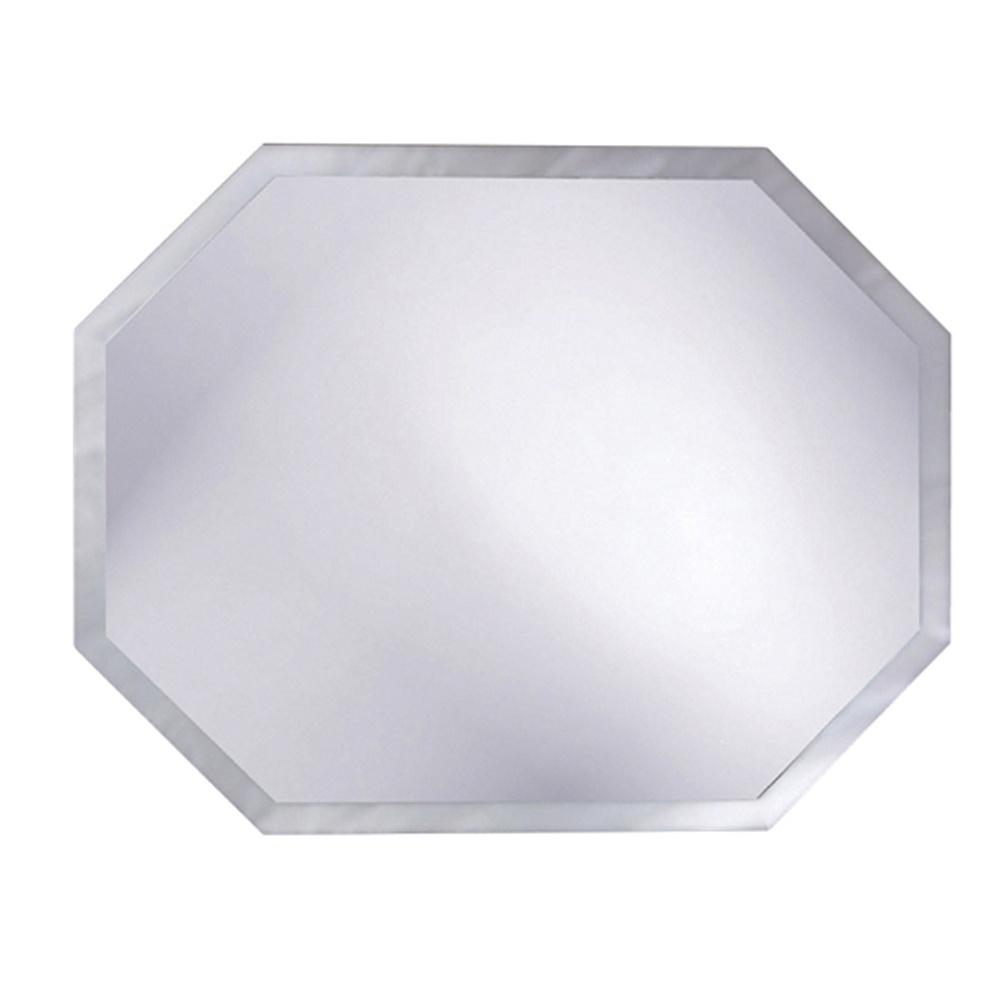 Arlen Frameless Wall Mirror | Octagonal