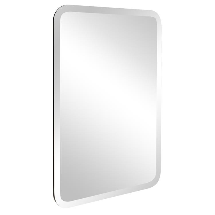 Allie Frameless Wall Mirror   Rectangular