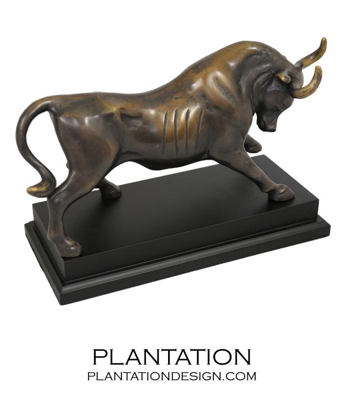 Taurus Bull Sculpture | Bronze