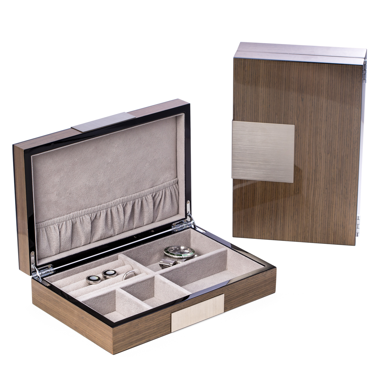 Denver Jewelry Box | Grey