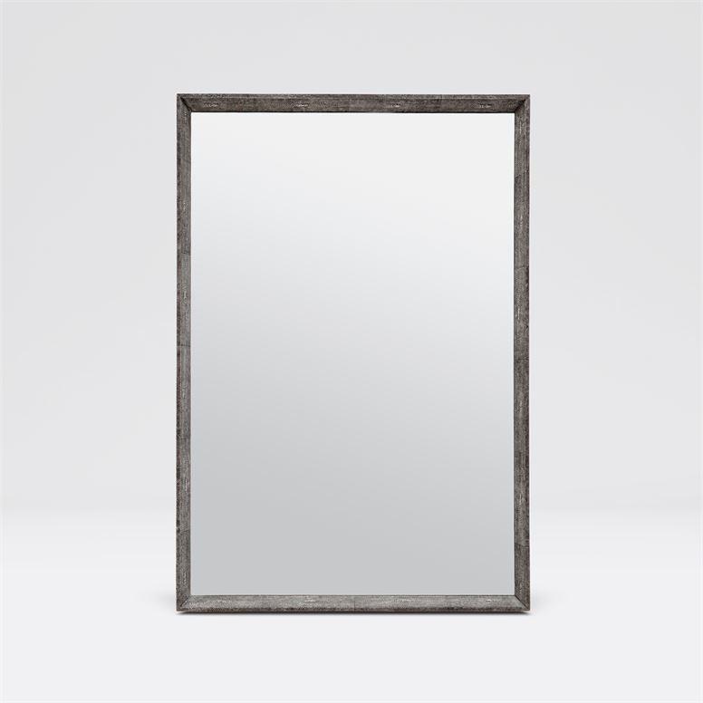 "Oliver ""Shagreen"" Mirrors   Grey"