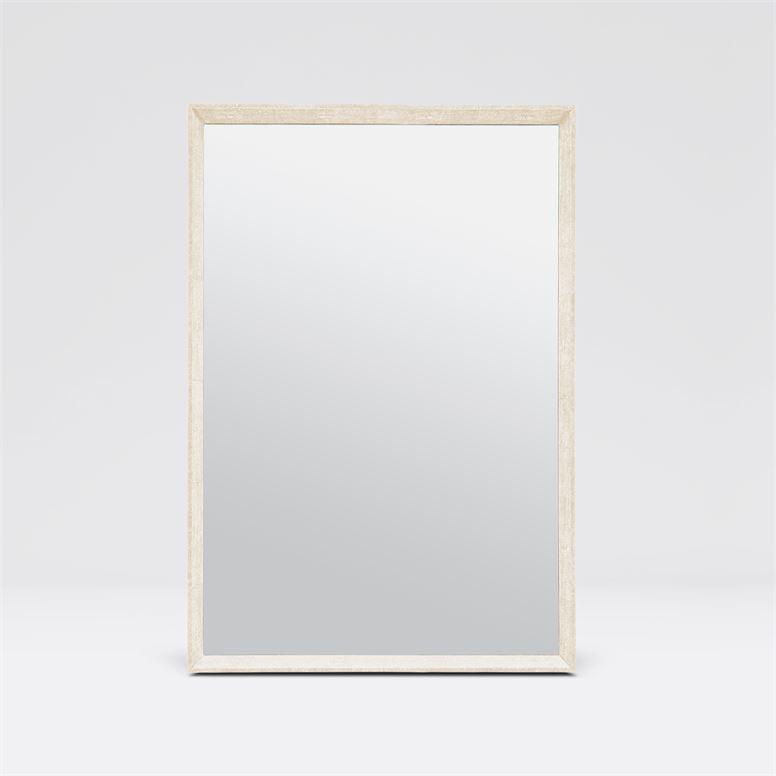 "Oliver ""Shagreen"" Mirrors | Ivory"