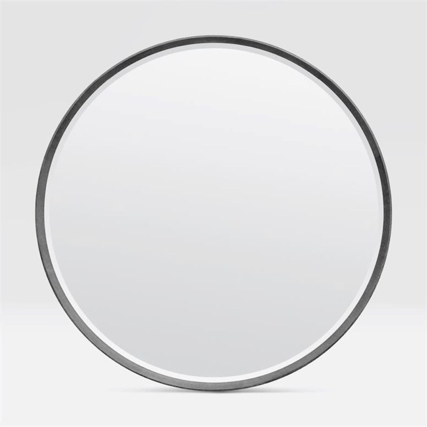 """Knightley """"Shagreen"""" Mirrors   Grey"""