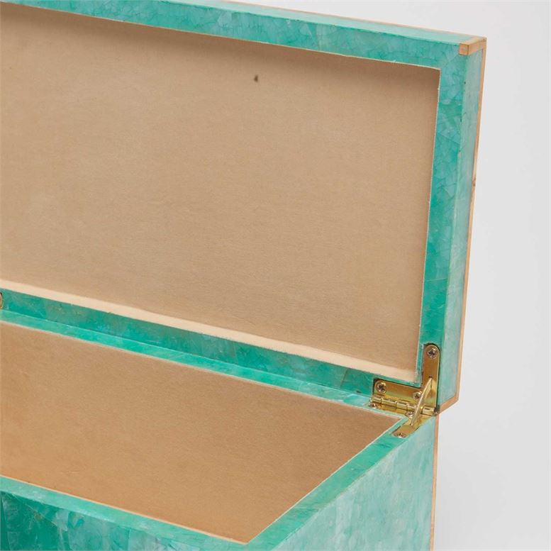 Foster Shell Boxes Set | Turquoise