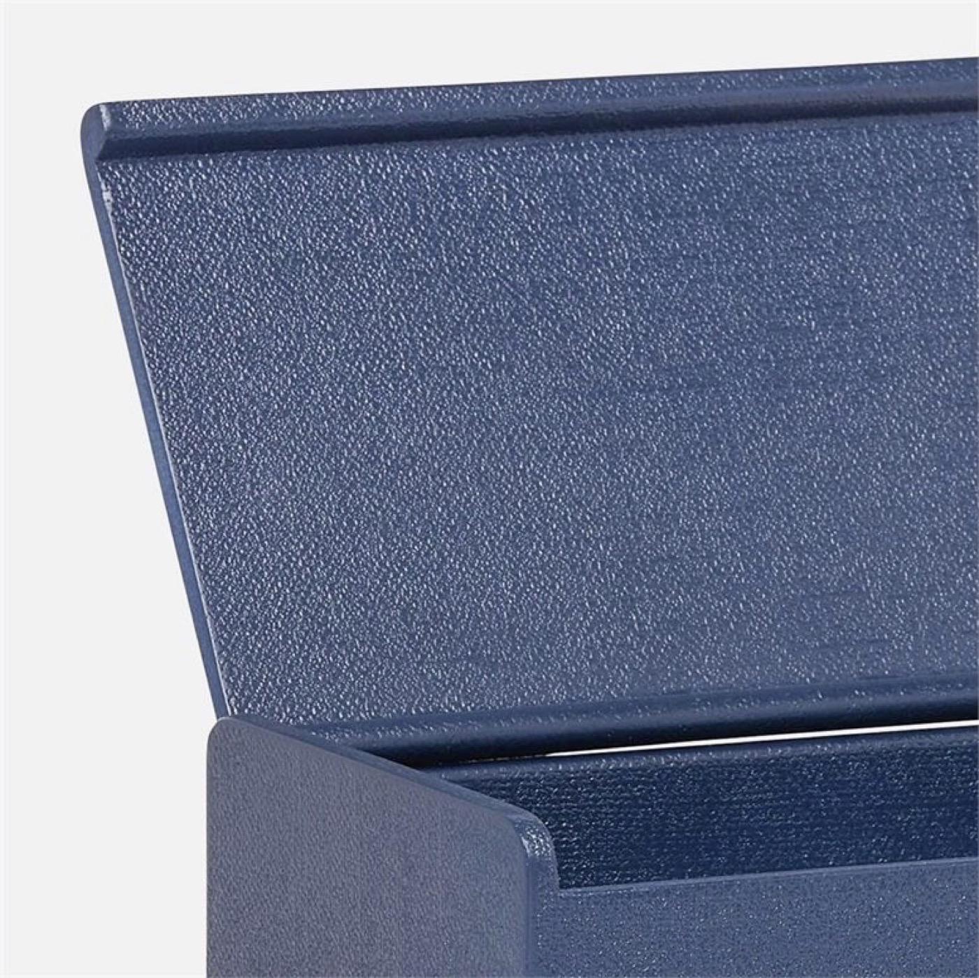 "Doris ""Linen"" Boxes Set | Dark Blue"