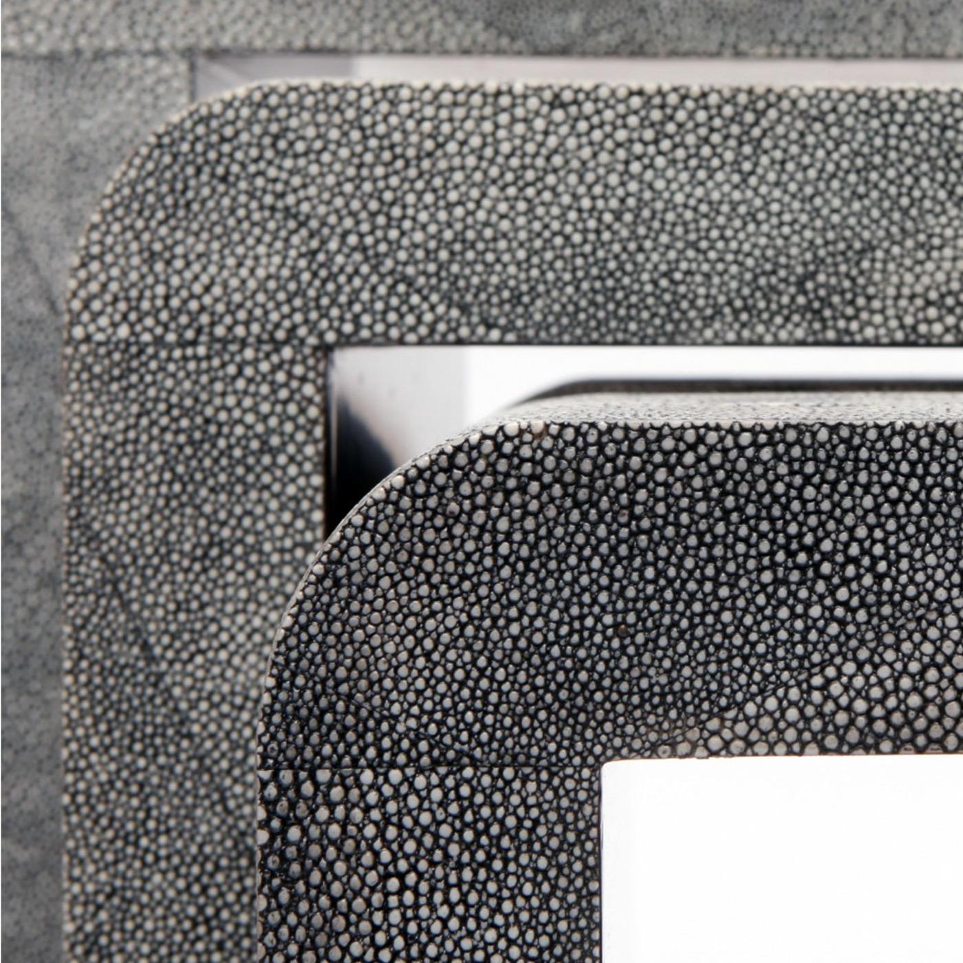"Harley ""Shagreen"" Nesting Tables | Grey"