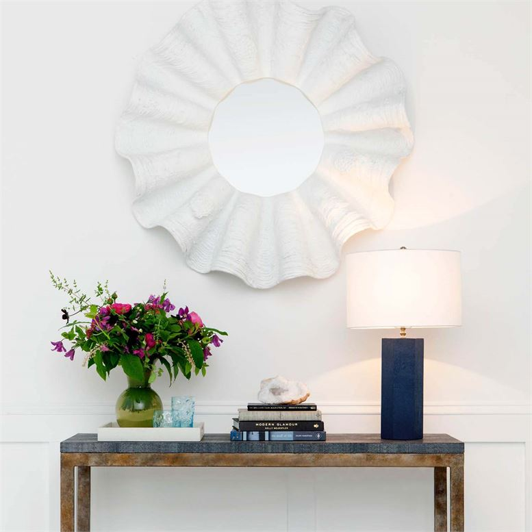 "Mathison ""Shagreen"" Table Lamps | Blue"