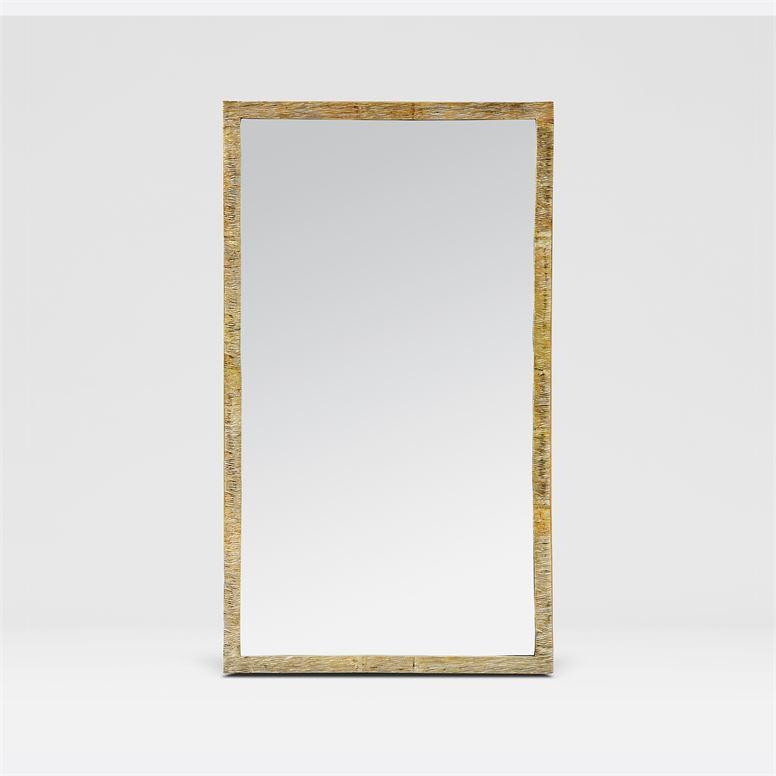Monarch Rectangular Wall Mirrors | Brass