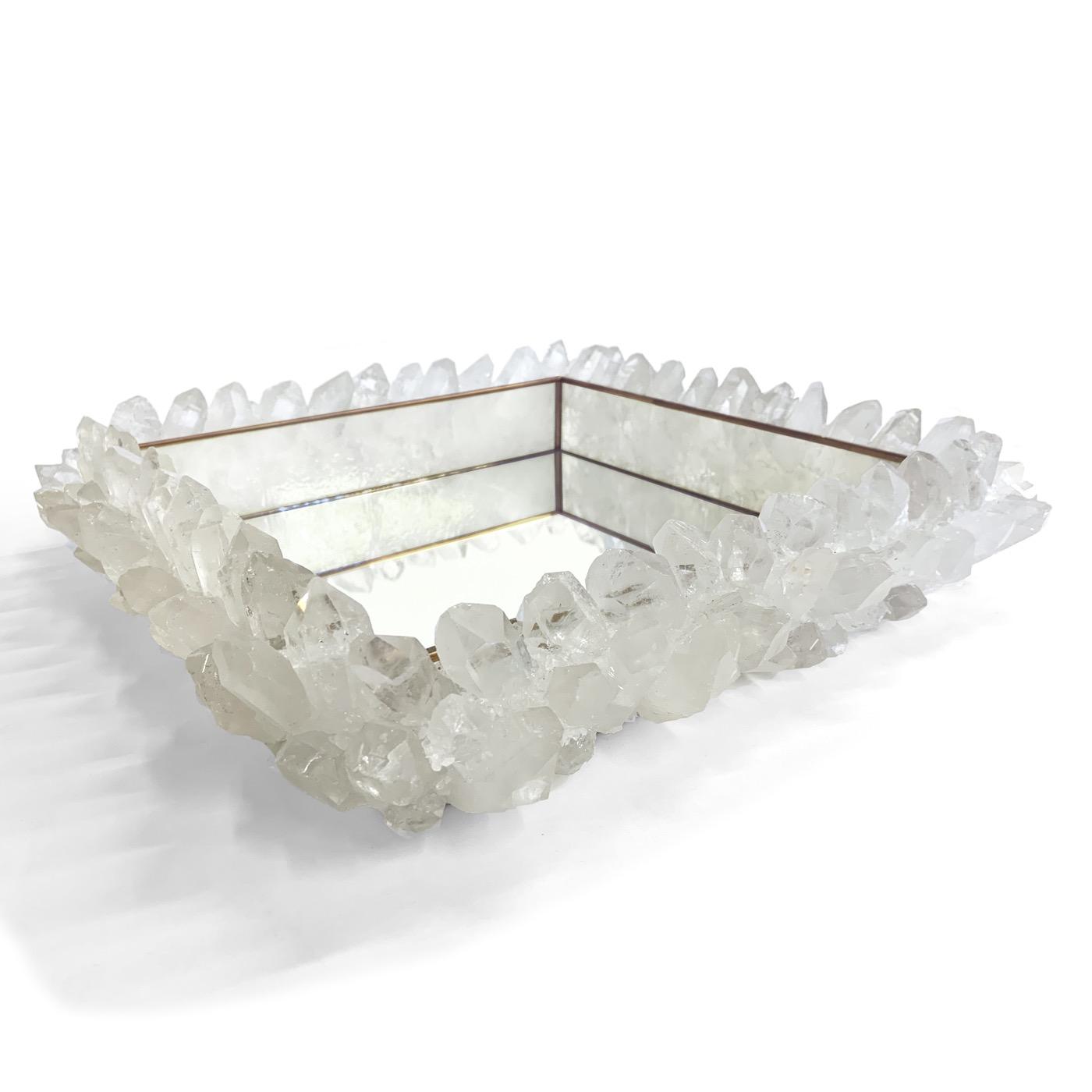 Maraba Mirrored Trays | Quartz