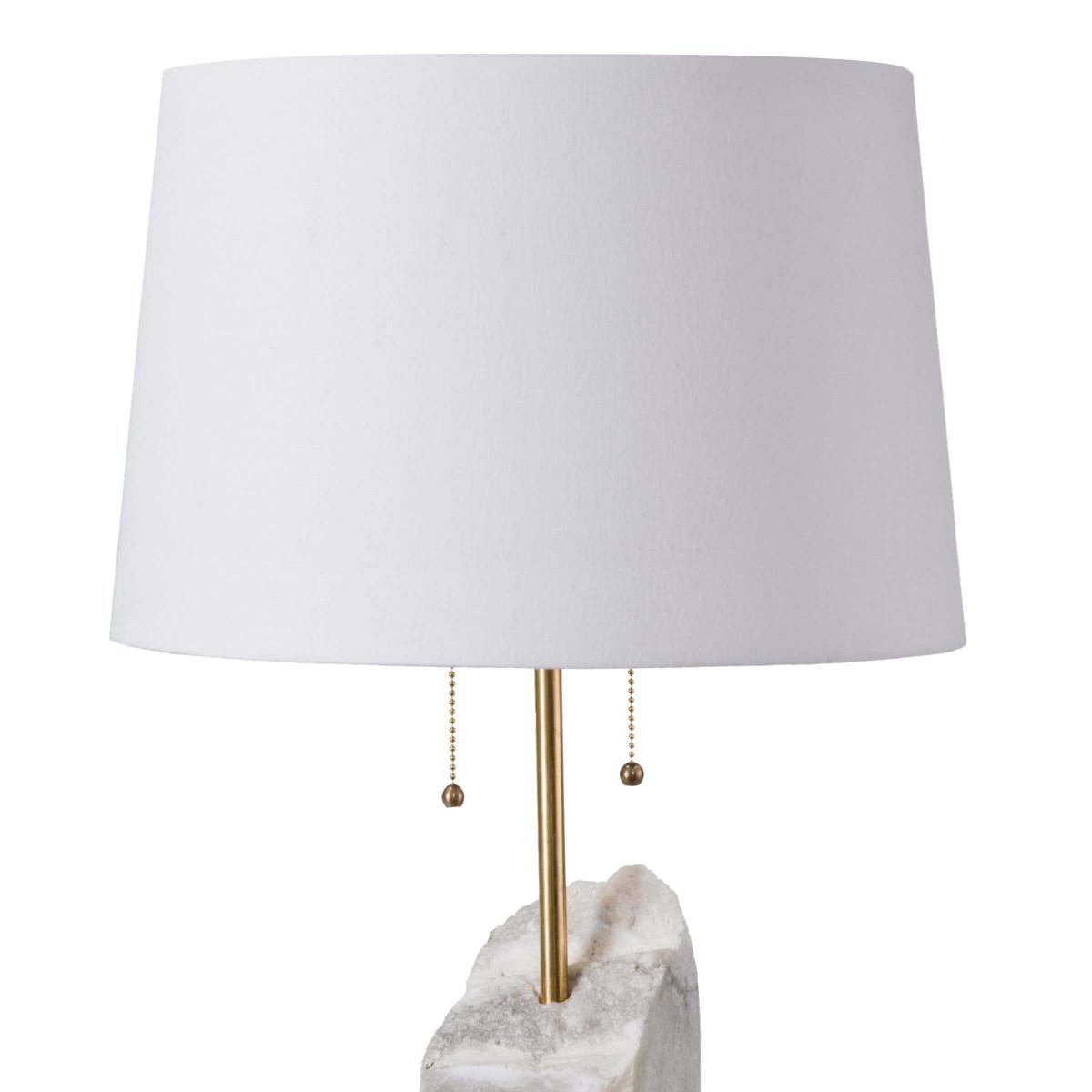 Gypsum Alabaster Table Lamp