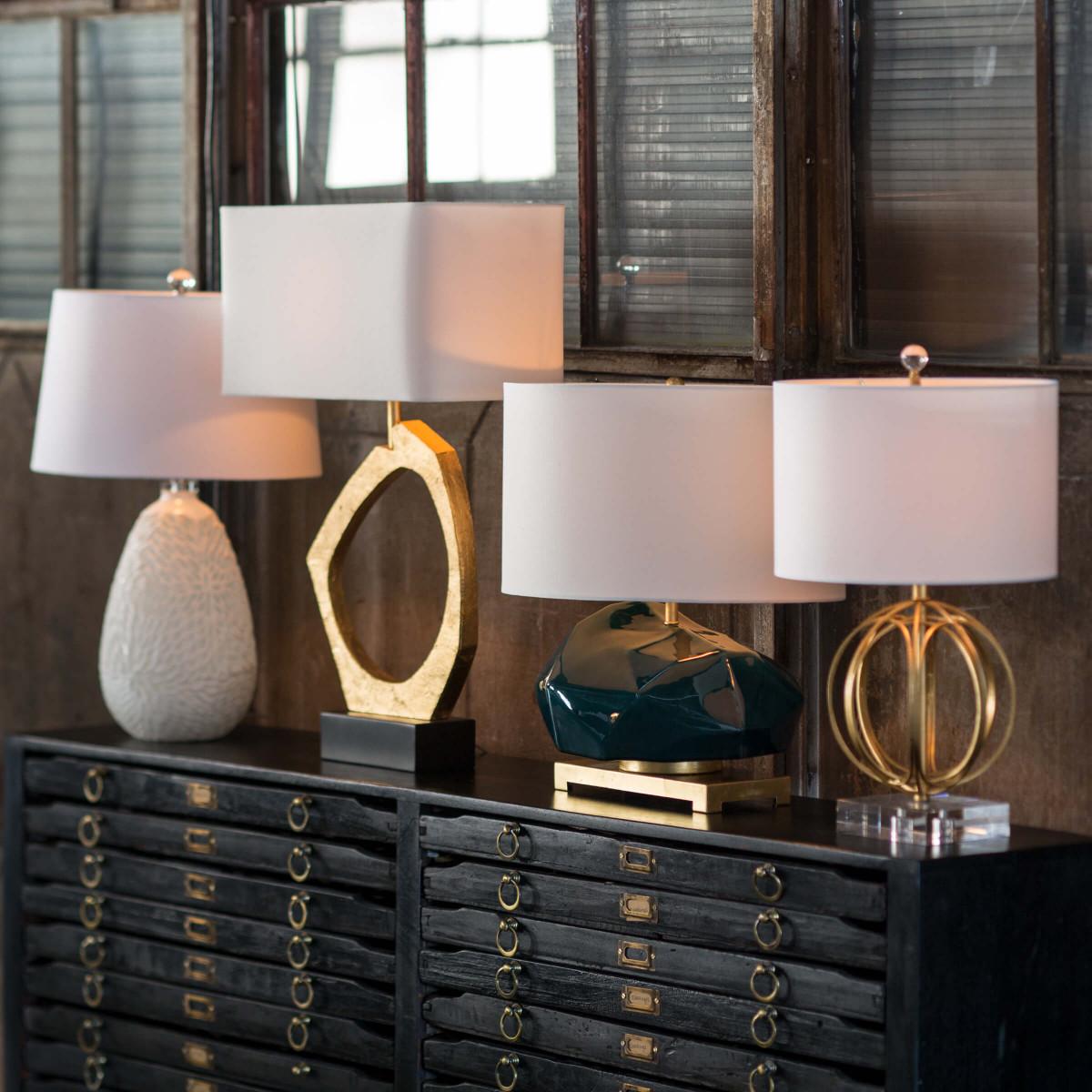 Ozman Gold Table Lamp