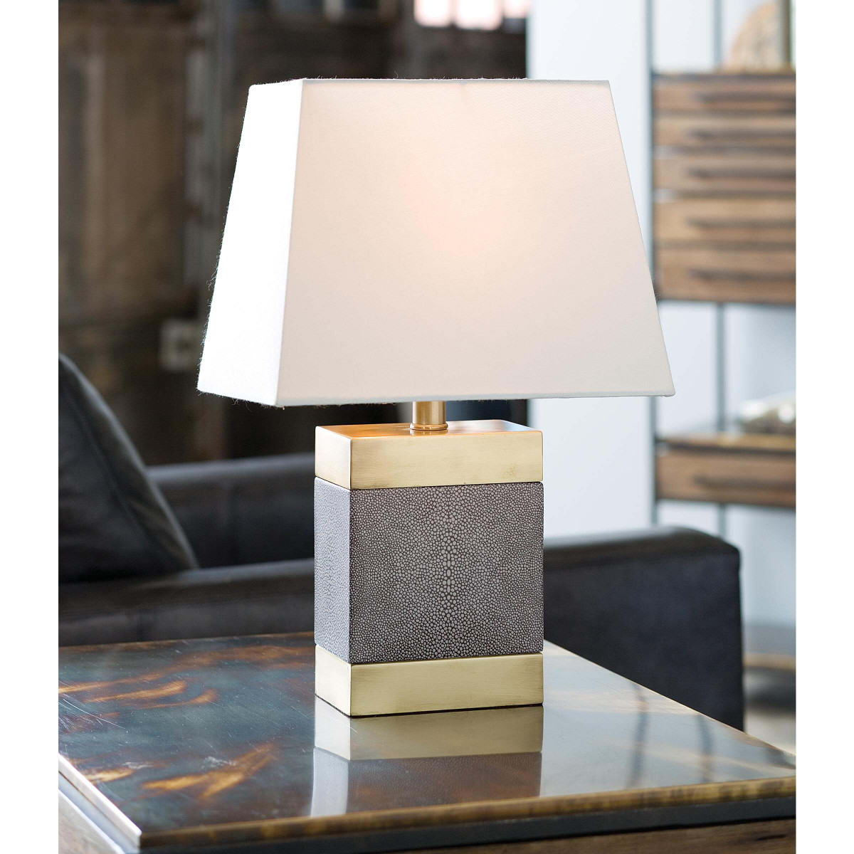 "Howell ""Shagreen"" Table Lamp"