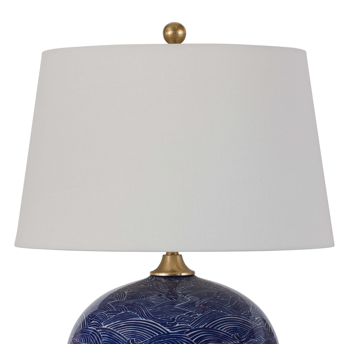 Davide Ceramic Lamp | Blue