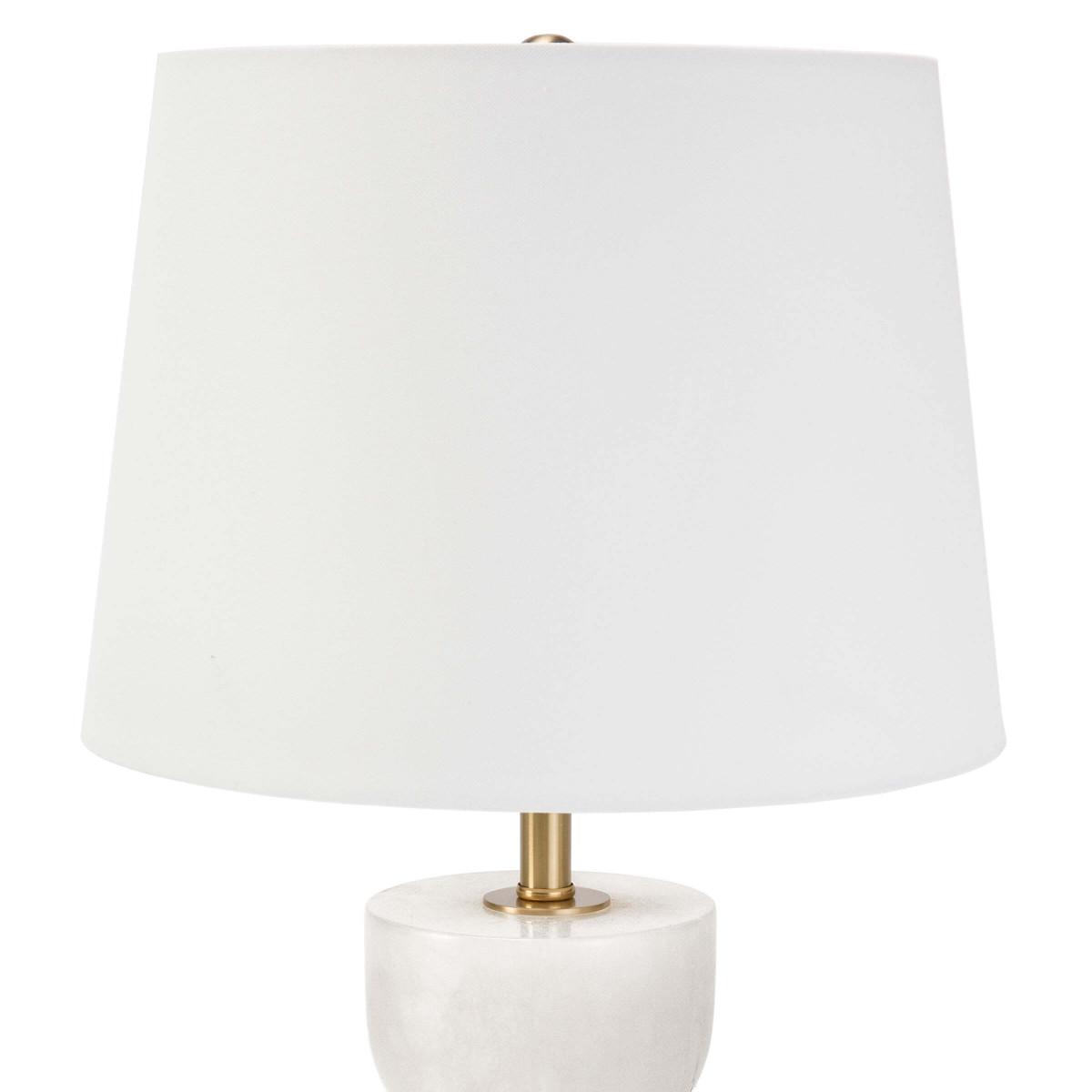 Gideon Short Lamp | Alabaster