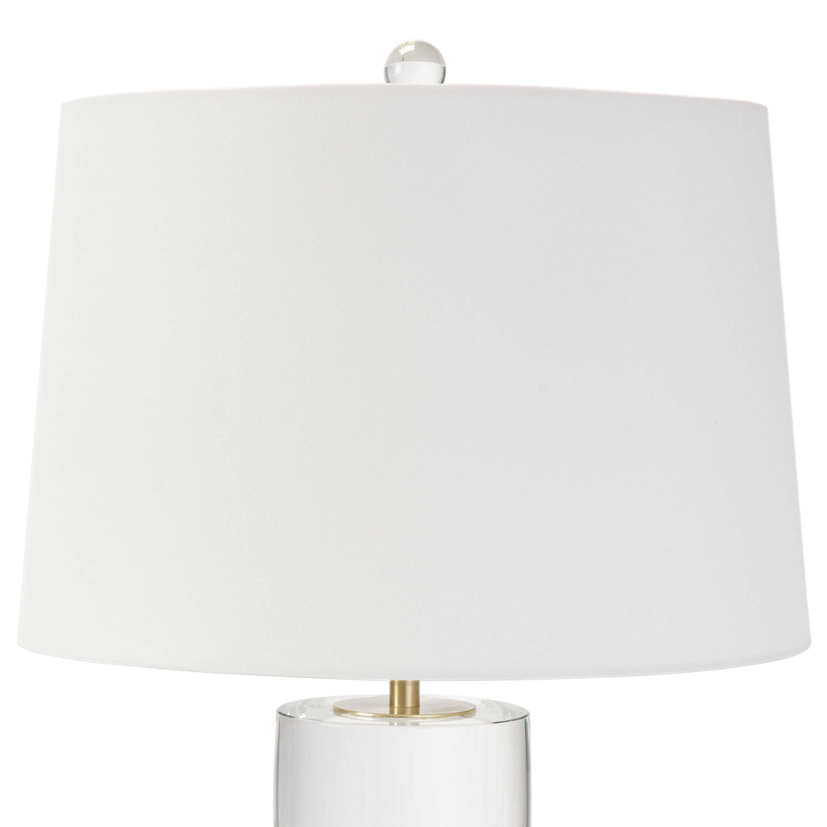 Gideon Tall Lamp | Crystal