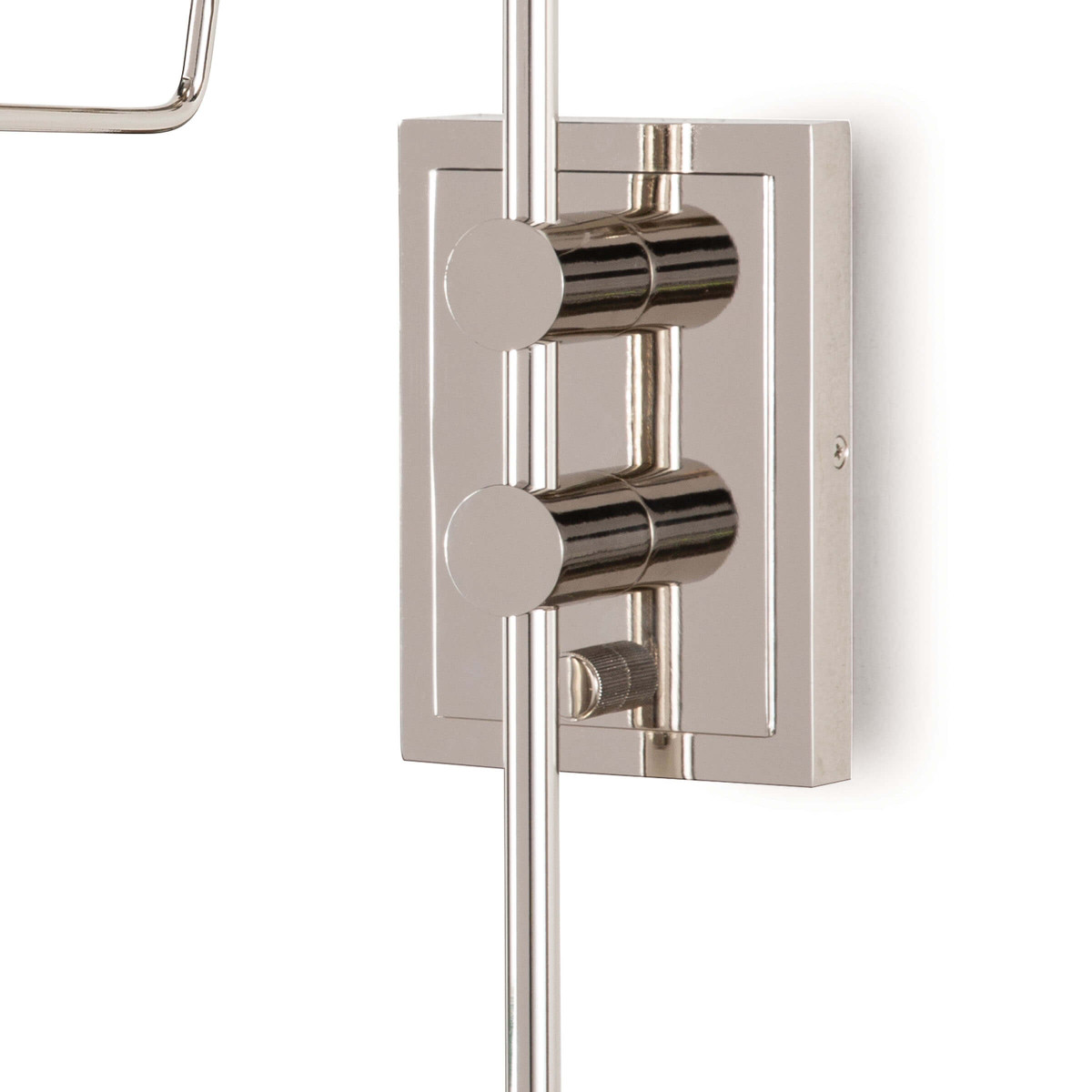 Zilker Adjustable Sconce | Nickel