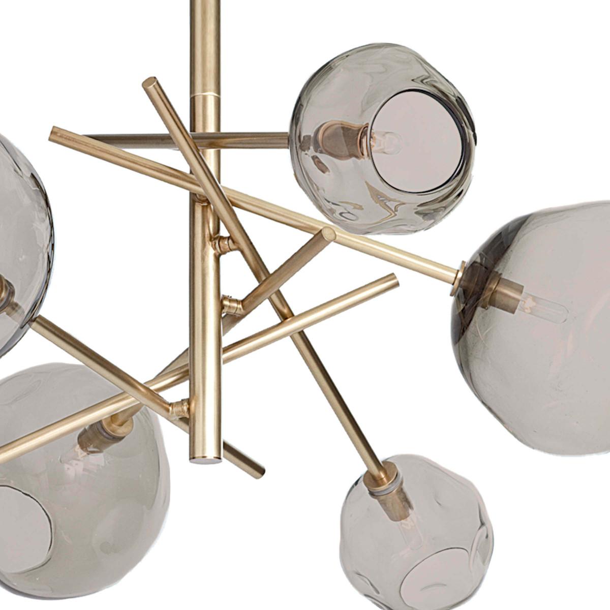 Fomo Chandelier | Brass