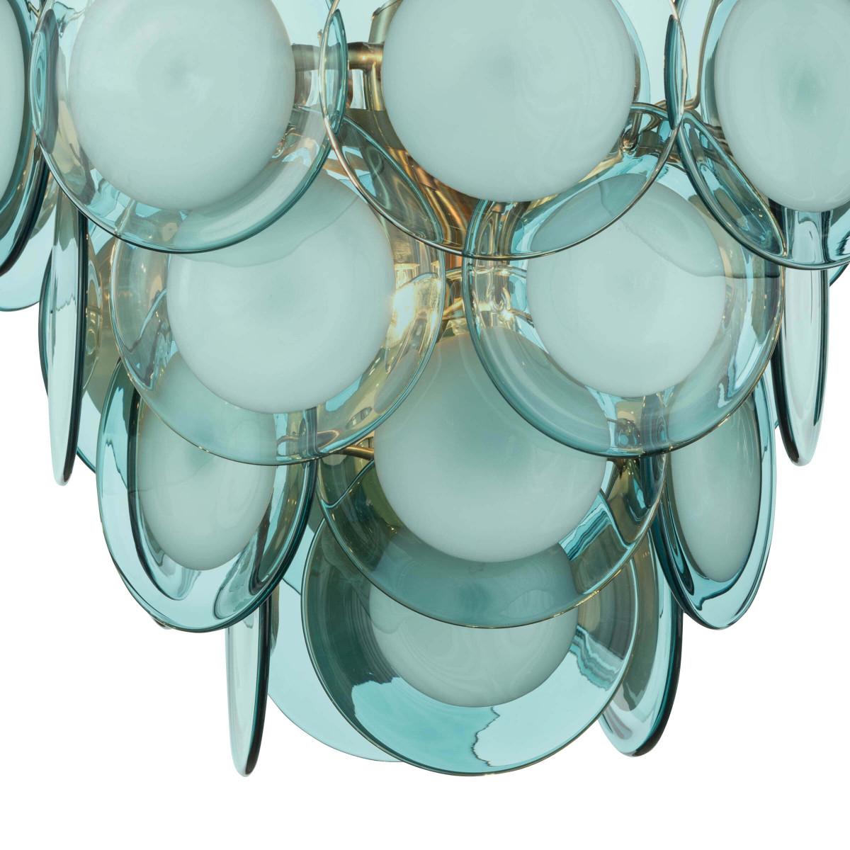 Cascada Glass Pendant | Aqua