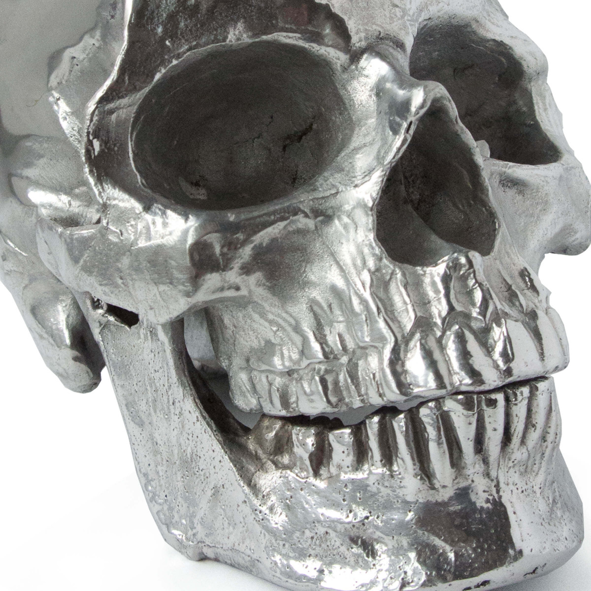 Cranio Metal Skull No. 2 | Nickel