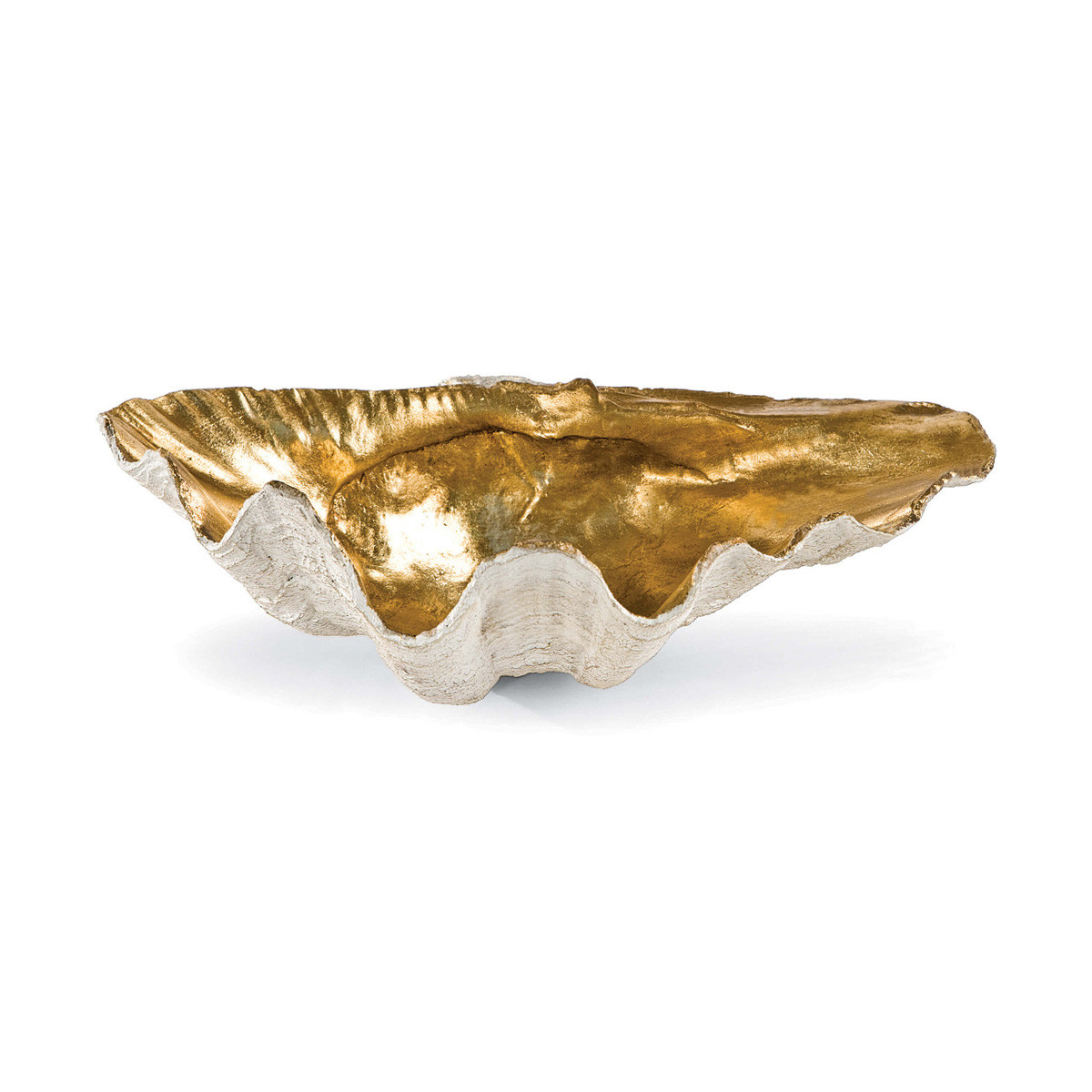 Clamshell Bowls | Gold Interior