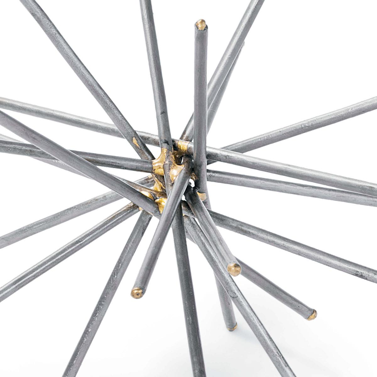 Burst Steel Spheres