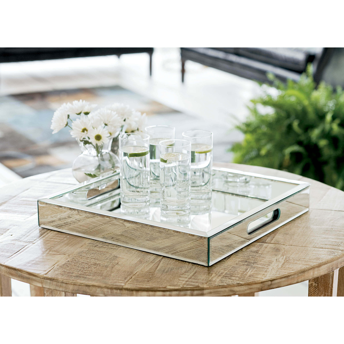 Walter Mirrored Large Tray