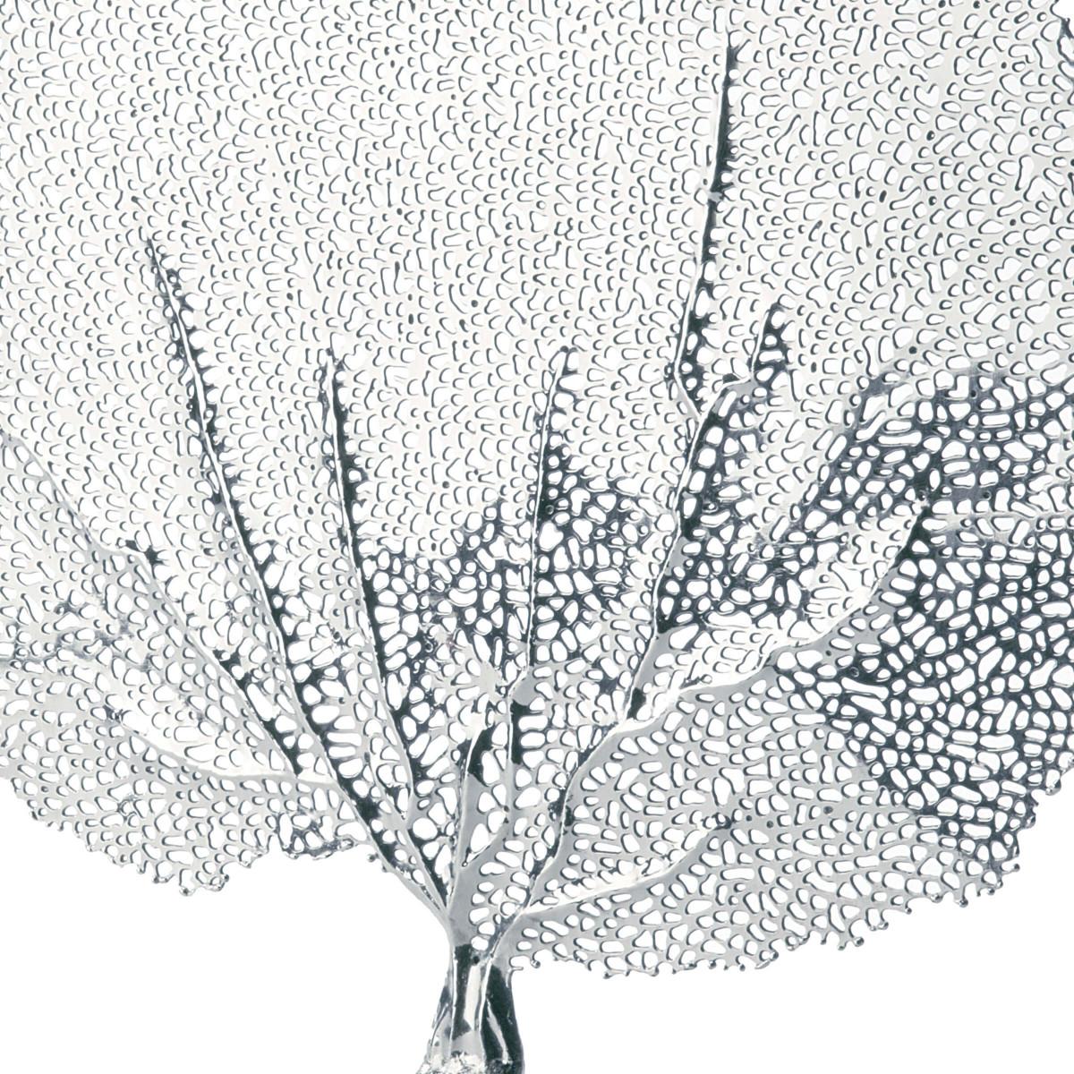 Zara Sea Fan Sculpture   Nickel