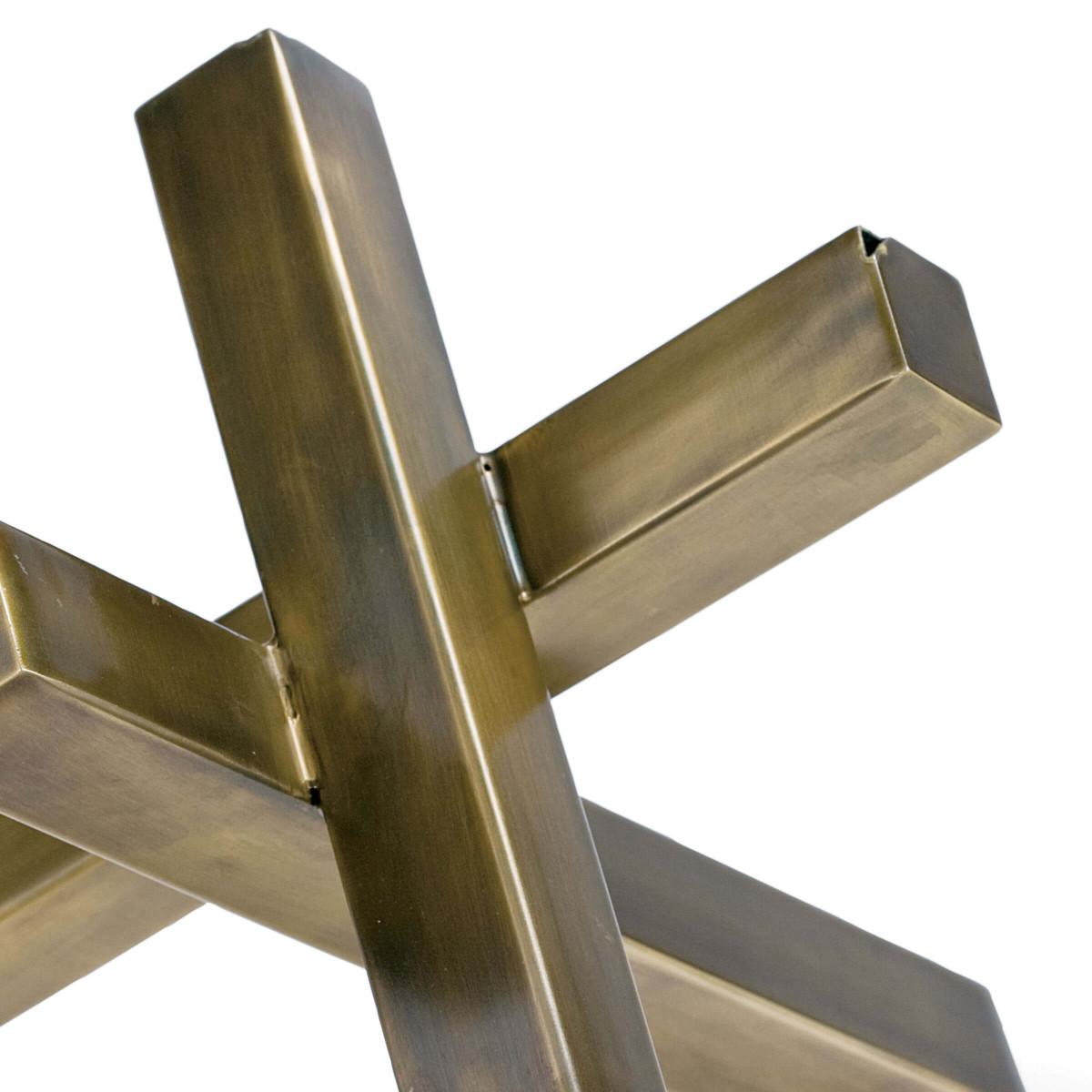 Triblock Sculpture | Brass