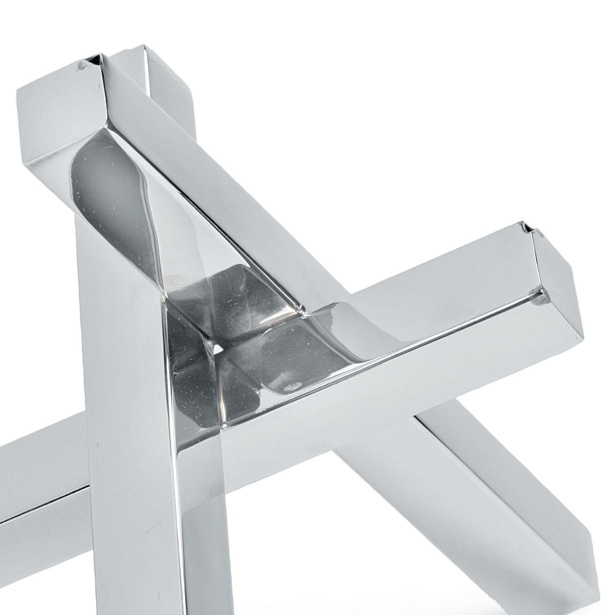 Triblock Sculpture | Nickel