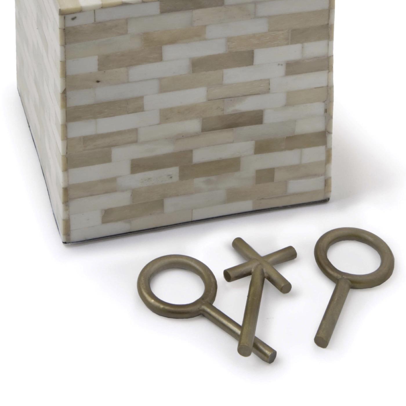 Tic-Tac-Toe Block | Gold