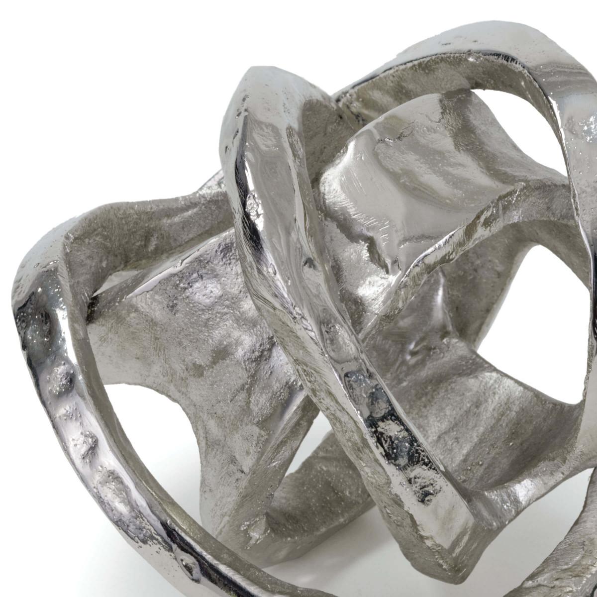 Twisted Sphere Object | Nickel