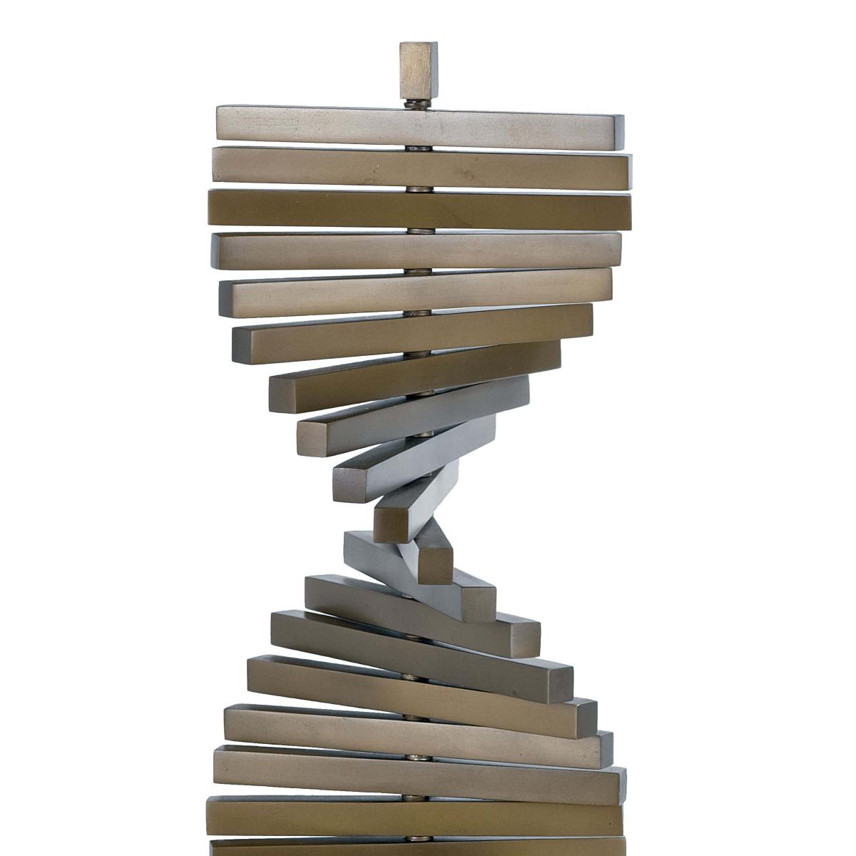 Helical Brass Sculpture