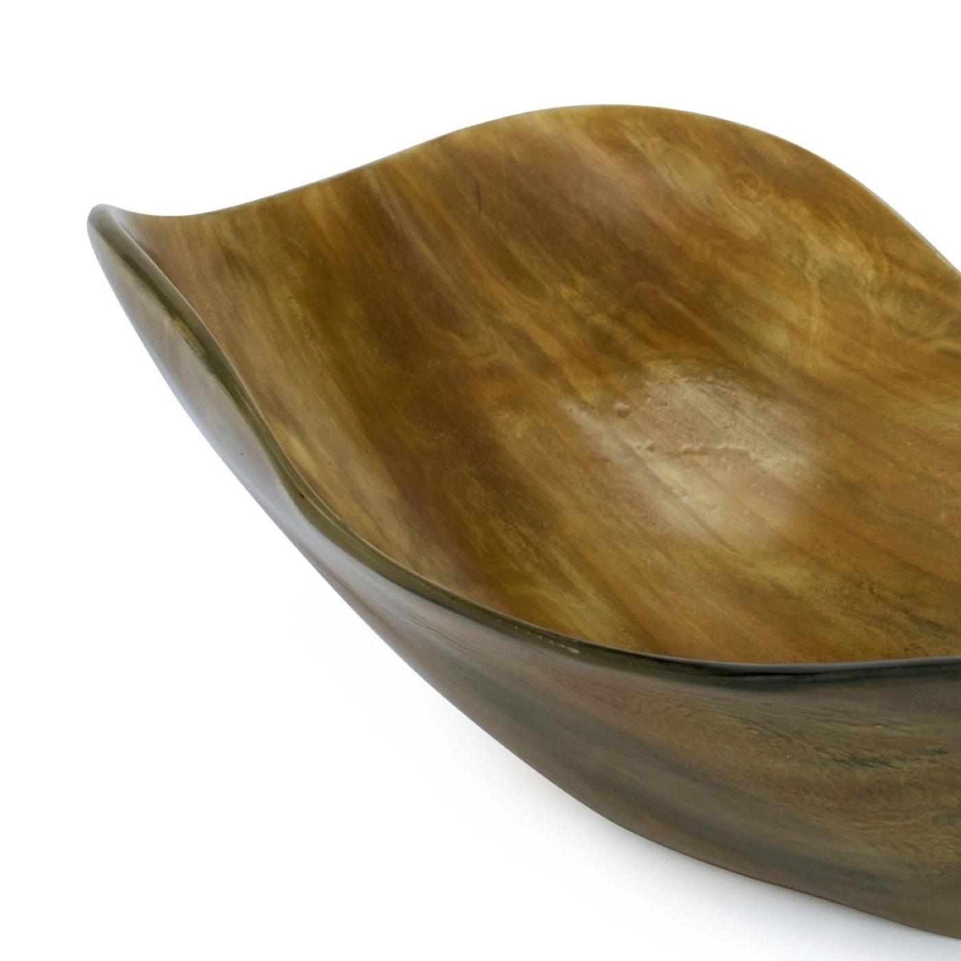 Dillinger Horn Bowl | Natural