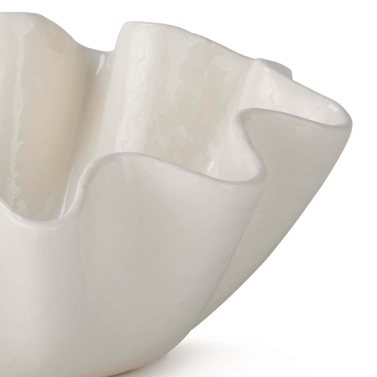 Billows Ceramic Bowl | Large