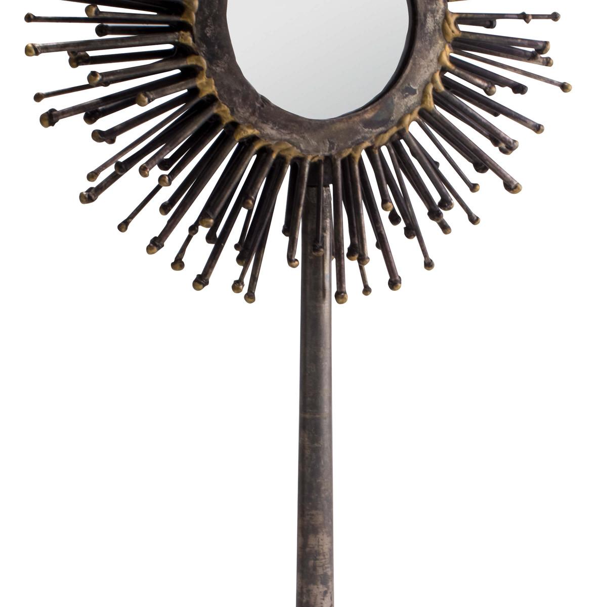 Ursa Starburst Table Mirror | Round