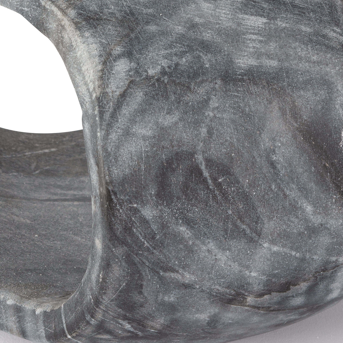 Julian Short Marble Object | Black