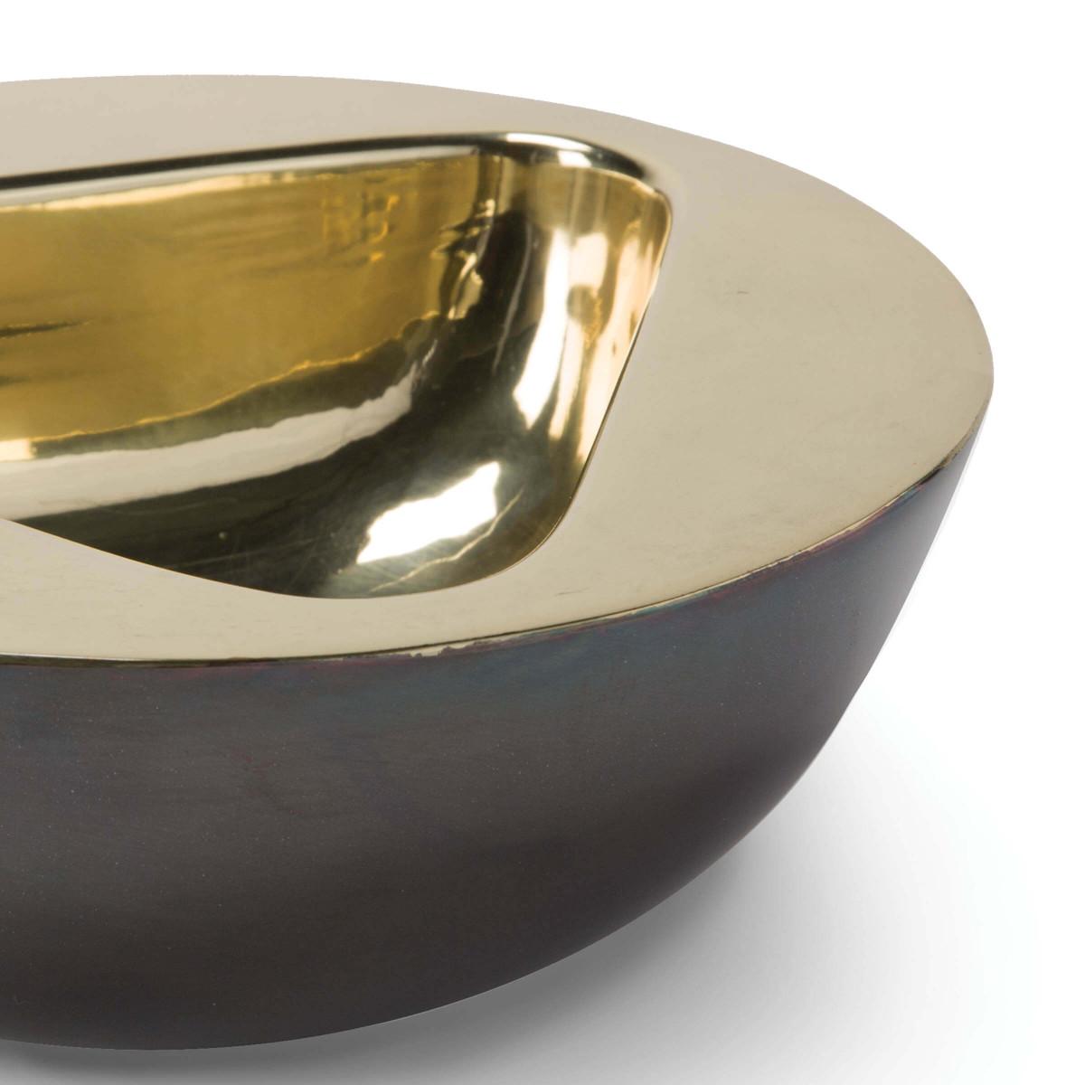 Anko Brass Bowl | Round