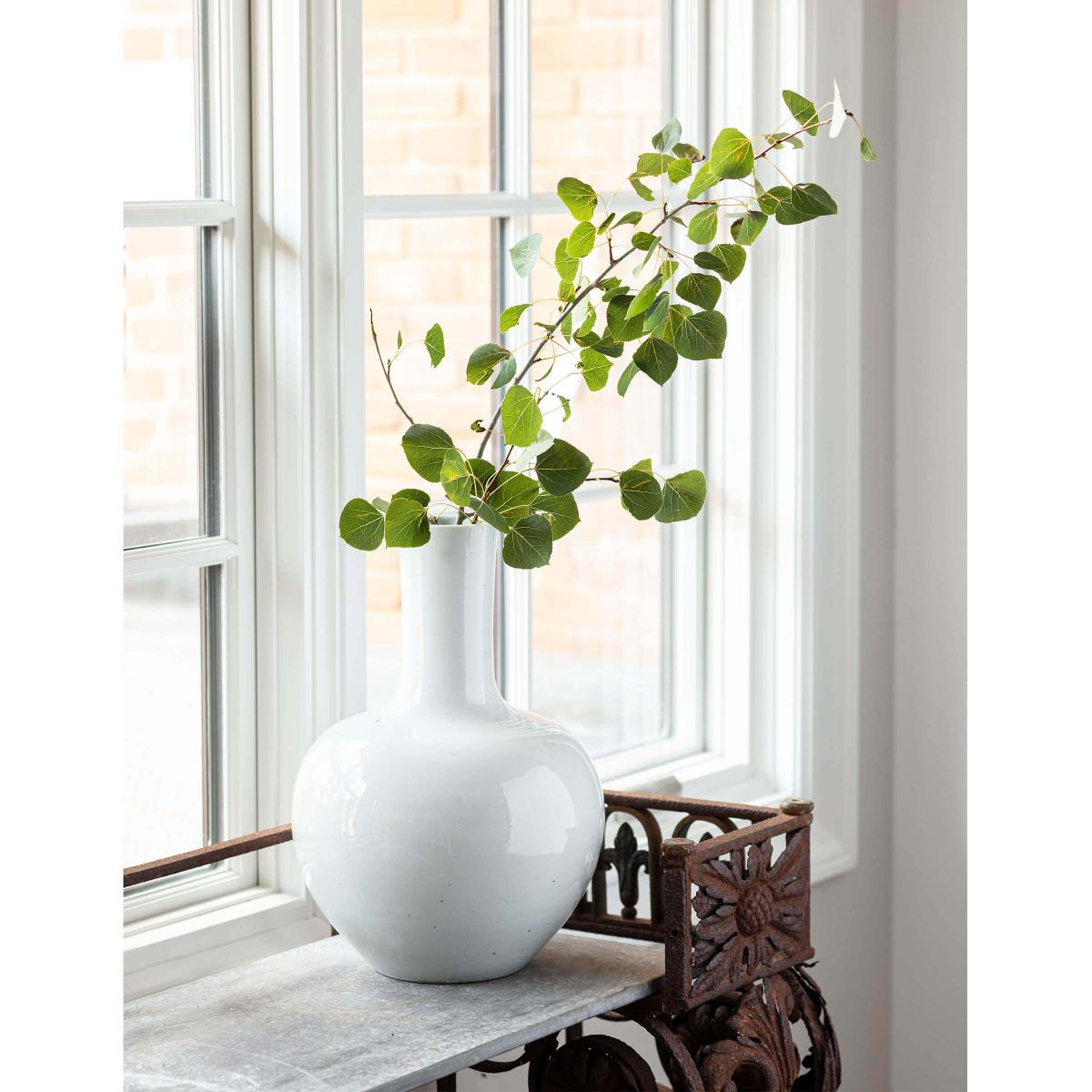 Alvia Ceramic Vase | Gourd