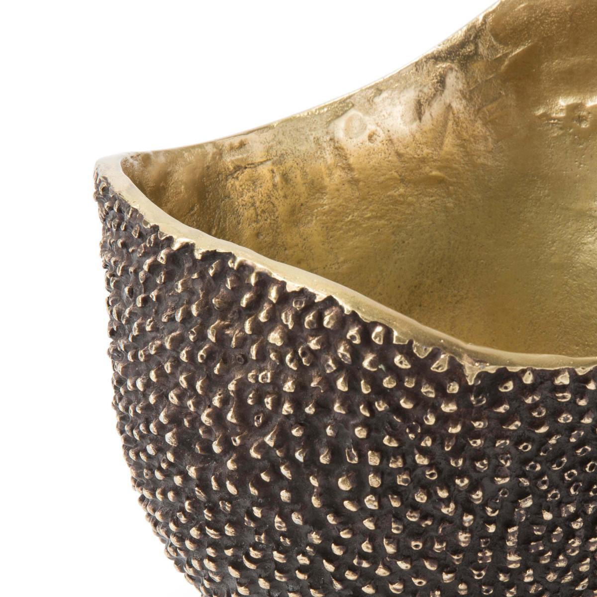 Ruvido Metal Bowl | Brass
