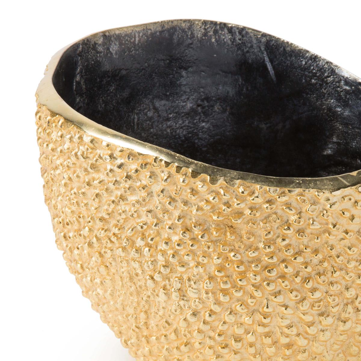 Ruvido Metal Bowl | Gold