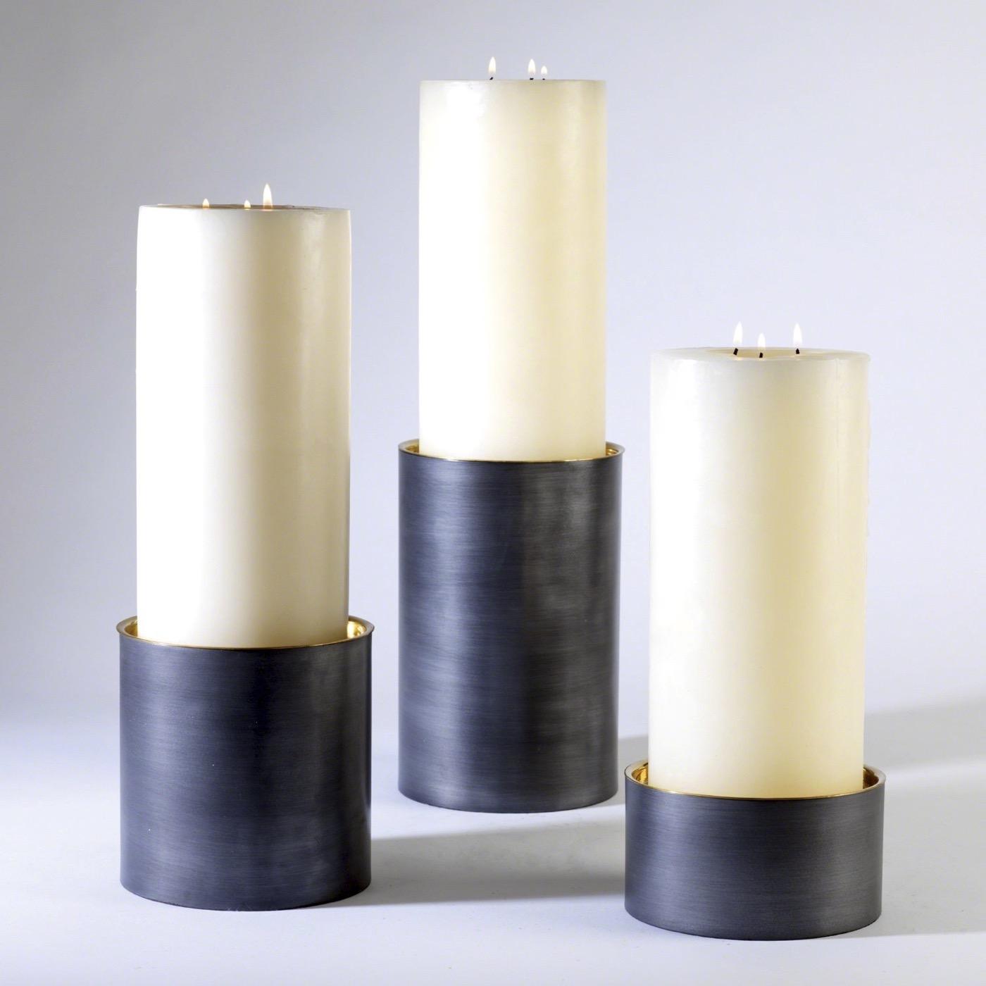 Yang Pillar Candleholders
