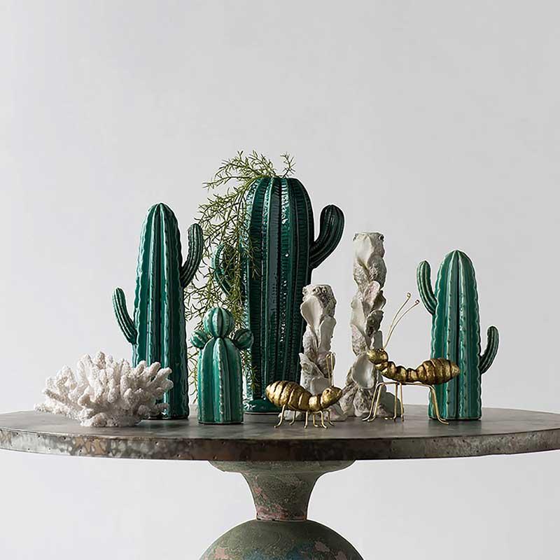 Cacti Ceramic Sculpture | Tall