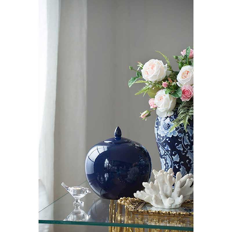 Ophelia Round Ceramic Jar